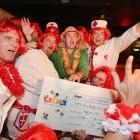 "11.11.2012 Lost Sisters spenden € 60.000,00 an RTL ""Wir helfen Kindern""."